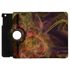Abstract Colorful Art Design Apple Ipad Mini Flip 360 Case by Nexatart
