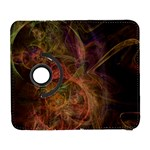 Abstract Colorful Art Design Samsung Galaxy S  III Flip 360 Case Front
