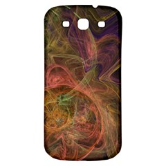 Abstract Colorful Art Design Samsung Galaxy S3 S Iii Classic Hardshell Back Case