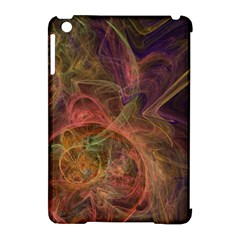 Abstract Colorful Art Design Apple Ipad Mini Hardshell Case (compatible With Smart Cover)