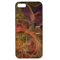Abstract Colorful Art Design Apple Iphone 5 Hardshell Case With Stand
