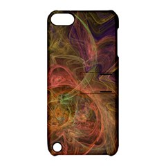 Abstract Colorful Art Design Apple Ipod Touch 5 Hardshell Case With Stand