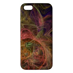 Abstract Colorful Art Design Apple Iphone 5 Premium Hardshell Case