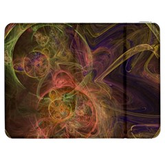 Abstract Colorful Art Design Samsung Galaxy Tab 7  P1000 Flip Case