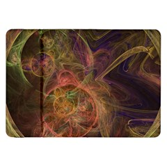 Abstract Colorful Art Design Samsung Galaxy Tab 8 9  P7300 Flip Case
