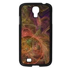 Abstract Colorful Art Design Samsung Galaxy S4 I9500/ I9505 Case (black)