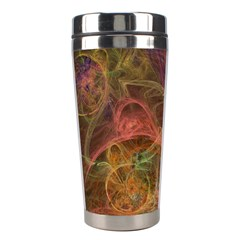 Abstract Colorful Art Design Stainless Steel Travel Tumblers