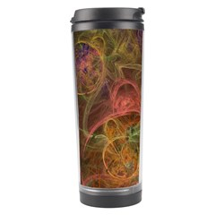 Abstract Colorful Art Design Travel Tumbler