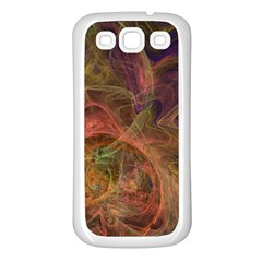 Abstract Colorful Art Design Samsung Galaxy S3 Back Case (white)
