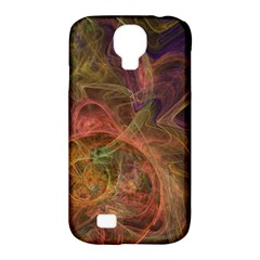 Abstract Colorful Art Design Samsung Galaxy S4 Classic Hardshell Case (pc+silicone)