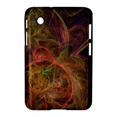 Abstract Colorful Art Design Samsung Galaxy Tab 2 (7 ) P3100 Hardshell Case