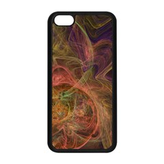 Abstract Colorful Art Design Apple Iphone 5c Seamless Case (black)