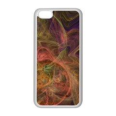 Abstract Colorful Art Design Apple Iphone 5c Seamless Case (white)