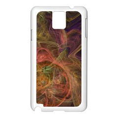 Abstract Colorful Art Design Samsung Galaxy Note 3 N9005 Case (white) by Nexatart
