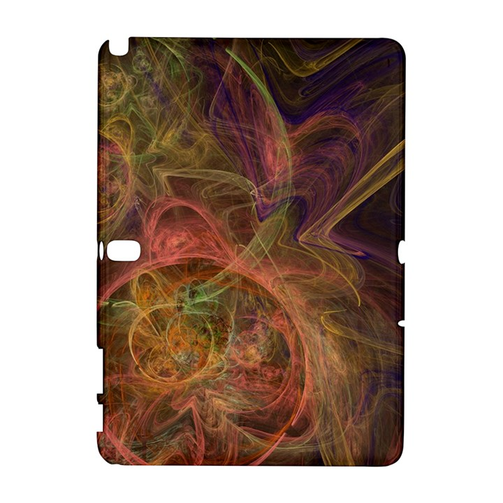 Abstract Colorful Art Design Samsung Galaxy Note 10.1 (P600) Hardshell Case