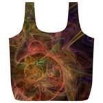 Abstract Colorful Art Design Full Print Recycle Bag (XL) Front