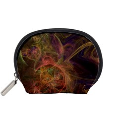 Abstract Colorful Art Design Accessory Pouch (small)