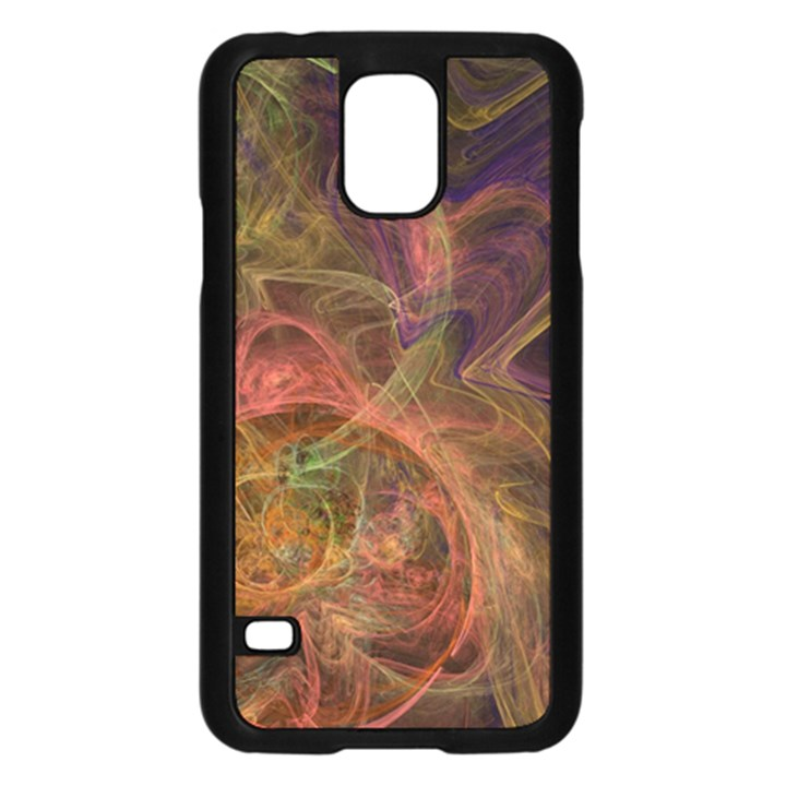 Abstract Colorful Art Design Samsung Galaxy S5 Case (Black)