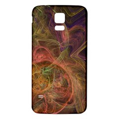 Abstract Colorful Art Design Samsung Galaxy S5 Back Case (white)