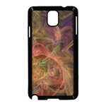 Abstract Colorful Art Design Samsung Galaxy Note 3 Neo Hardshell Case (Black) Front