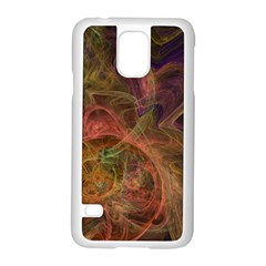 Abstract Colorful Art Design Samsung Galaxy S5 Case (white)