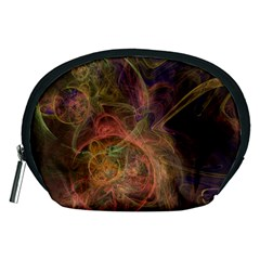 Abstract Colorful Art Design Accessory Pouch (medium)