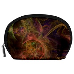 Abstract Colorful Art Design Accessory Pouch (large)