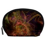 Abstract Colorful Art Design Accessory Pouch (Large) Front
