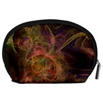 Abstract Colorful Art Design Accessory Pouch (Large) Back