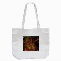 Abstract Colorful Art Design Tote Bag (white)