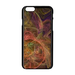 Abstract Colorful Art Design Apple Iphone 6/6s Black Enamel Case by Nexatart