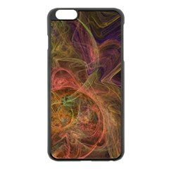 Abstract Colorful Art Design Apple Iphone 6 Plus/6s Plus Black Enamel Case