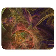 Abstract Colorful Art Design Double Sided Flano Blanket (medium)