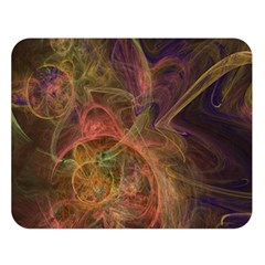 Abstract Colorful Art Design Double Sided Flano Blanket (large)  by Nexatart