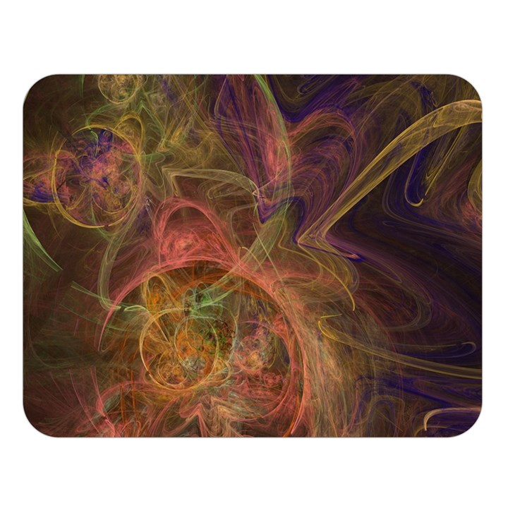 Abstract Colorful Art Design Double Sided Flano Blanket (Large)