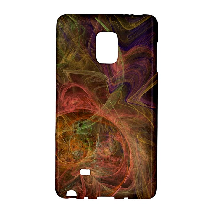 Abstract Colorful Art Design Samsung Galaxy Note Edge Hardshell Case