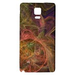 Abstract Colorful Art Design Samsung Note 4 Hardshell Back Case Front