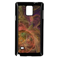 Abstract Colorful Art Design Samsung Galaxy Note 4 Case (black)