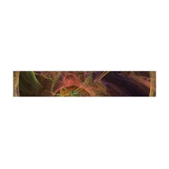 Abstract Colorful Art Design Flano Scarf (mini)
