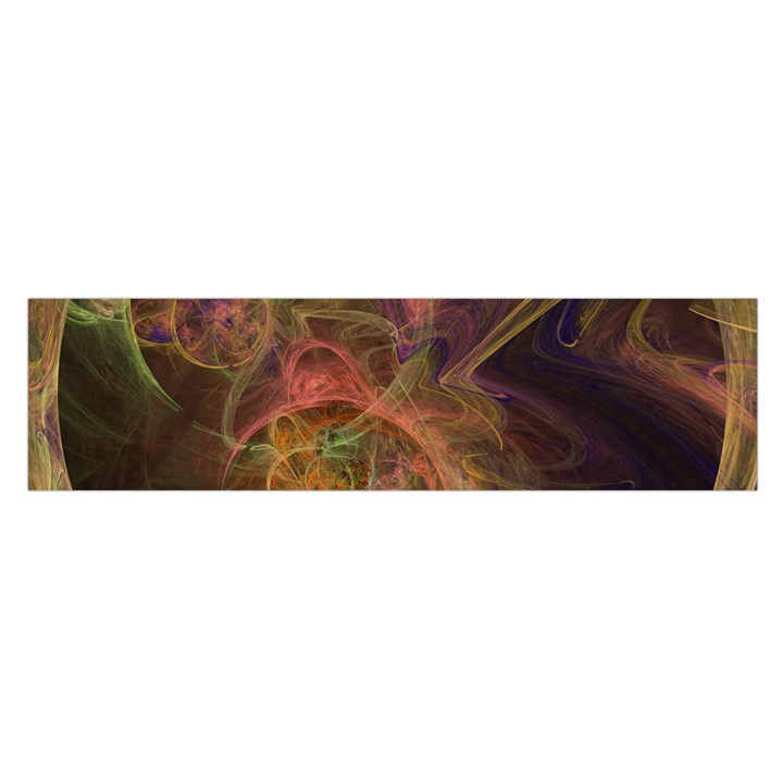 Abstract Colorful Art Design Satin Scarf (Oblong)