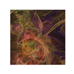 Abstract Colorful Art Design Small Satin Scarf (square)