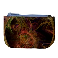 Abstract Colorful Art Design Large Coin Purse