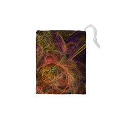 Abstract Colorful Art Design Drawstring Pouch (xs)