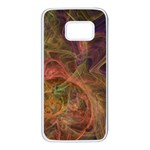 Abstract Colorful Art Design Samsung Galaxy S7 White Seamless Case Front