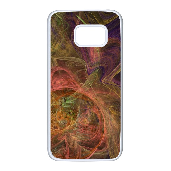 Abstract Colorful Art Design Samsung Galaxy S7 White Seamless Case