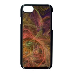 Abstract Colorful Art Design Apple Iphone 7 Seamless Case (black)