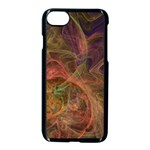 Abstract Colorful Art Design Apple iPhone 7 Seamless Case (Black) Front
