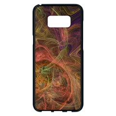 Abstract Colorful Art Design Samsung Galaxy S8 Plus Black Seamless Case