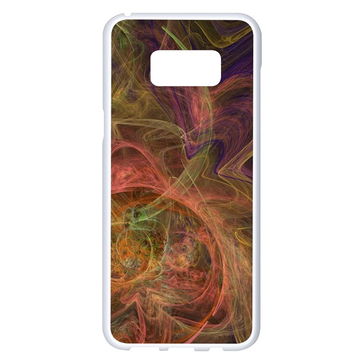 Abstract Colorful Art Design Samsung Galaxy S8 Plus White Seamless Case