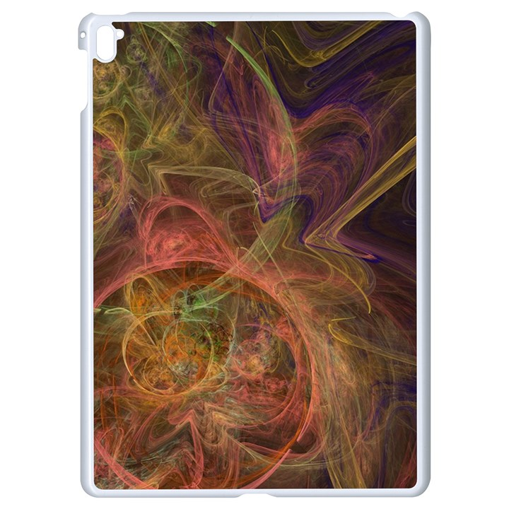 Abstract Colorful Art Design Apple iPad Pro 9.7   White Seamless Case